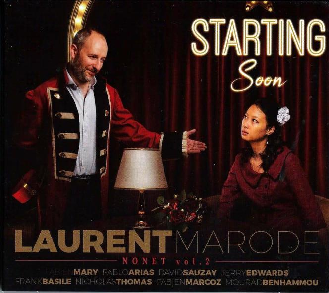 Pochette de l'album «Starting Soon», de Laurent Marode.