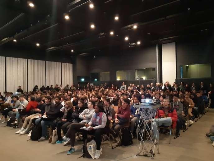 Plusieurs conférences sur l'orientation et les débouchés sont organisées lors du Salon, samedi 25 janvier 2020.