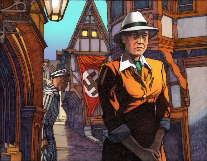Anna Seghers vu par Miles Hyman.