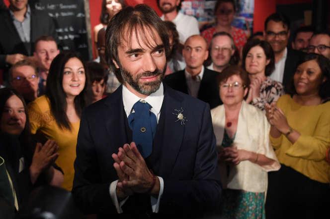 Le candidat dissident de La République en marche (LRM), Cédric Villani, au lancement de sa campagne, à Paris, le 4 septembre 2019.