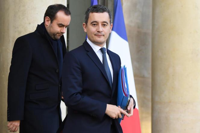 Gérald Darmanin (à droite) va se présenter àTourcoing (Nord), et Sébastien Lecornu se présentera à Vernon (Eure).