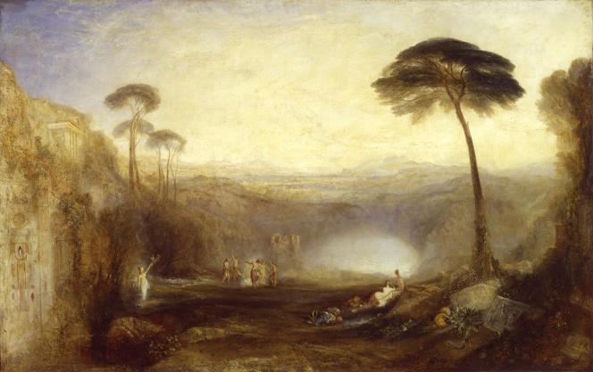 «Le Rameau d'or», exposé en 1834, huile sur toile. (Tate, accepté par la nation dans le cadre du legs Turner, 1856.)