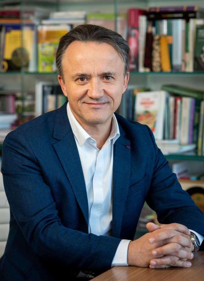 Philippe Mauguin, président directeur général de l'Inrae, à Paris, le 30 janvier 2019.