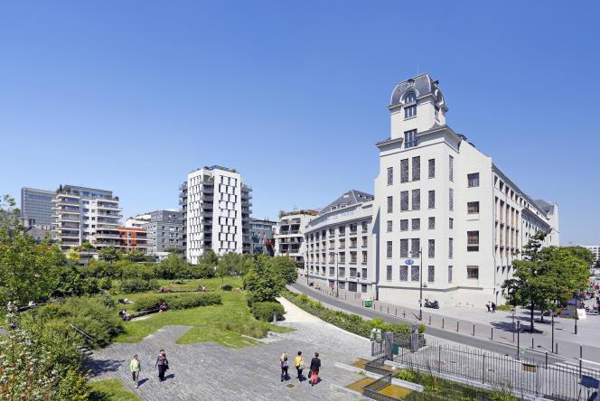 Les Jardins des Grands Moulins - Abbé Pierre, dans le 13e arrondissement de Paris.