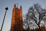 Le palais de Westminster, à Londres, le 21janvier 2020.