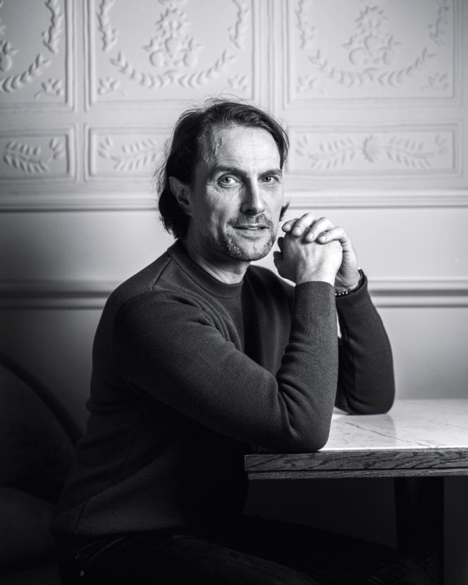Le pâtissier Sébastien Gaudard.