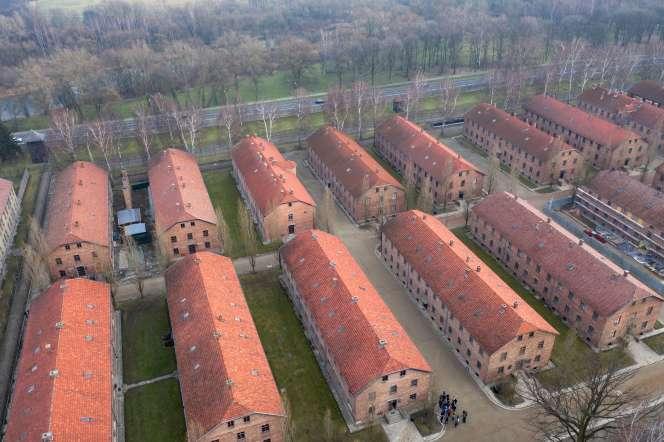 Le camp d'extermination nazi d'Auschwitz (Pologne), le 14 janvier.