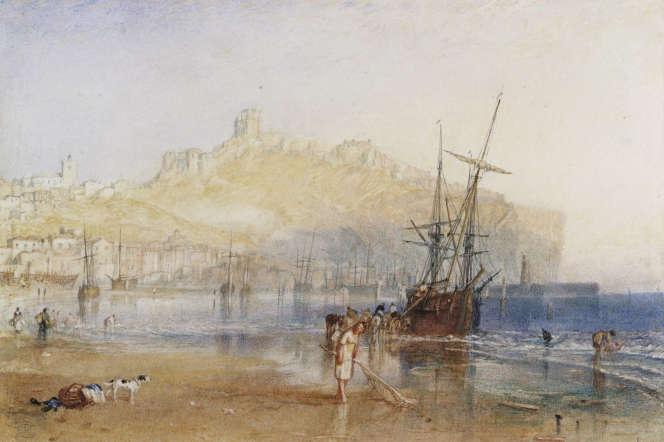 «Scarborough» (vers 1825), de William Turner. Aquarelle et graphite sur papier.