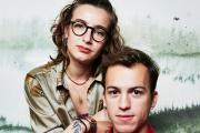 Winona Guyon et Lucas Wild (ici, à Paris, le 14 janvier) incarnent Noée et Camille dans la saison 5 de «Skam France».