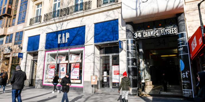 Fermeture de magasins, ventes en baisse... Le jean de Gap a le blues