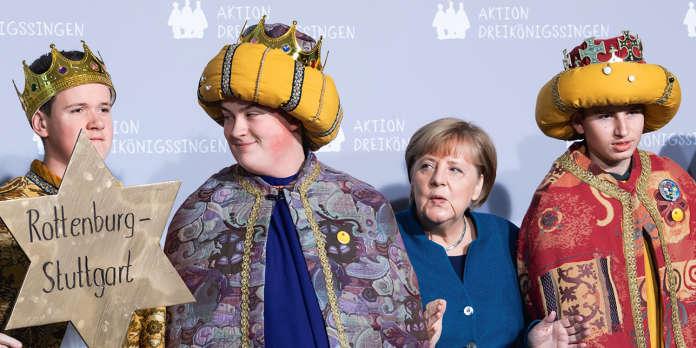 Angela Merkel en chœur : c'est peut-être un détail pour vous…