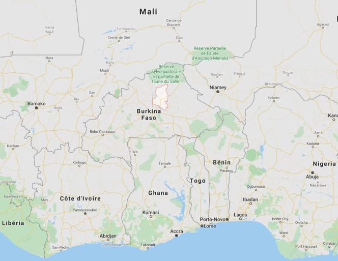 L'attaque terroriste qui a tué 36 civils, lundi 20 janvier, a eu lieu dans la province du Sanmatenga, dans le nord du Burkina Faso.