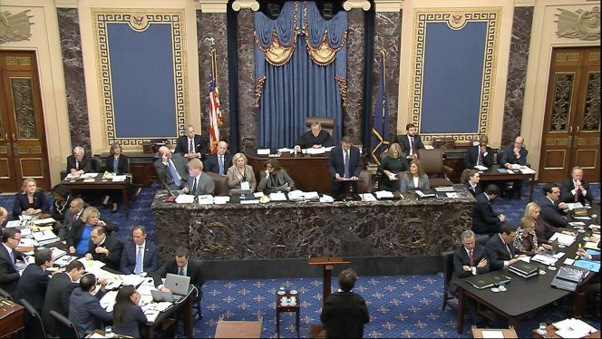 Le procès pour impeachment contre Donald Trump a commencé mardi 21 janvier au Sénat.