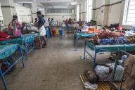Un service d'un hôpital d'Ernakulam, dans le Kerala, le 25 novembre 2019