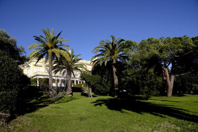La villa Eléonore-Louise à Cannes.