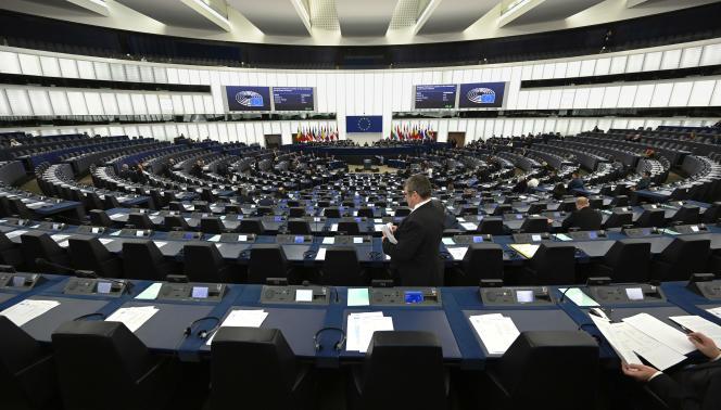 Au Parlement européen, à Strasbourg, le 15 janvier 2020.