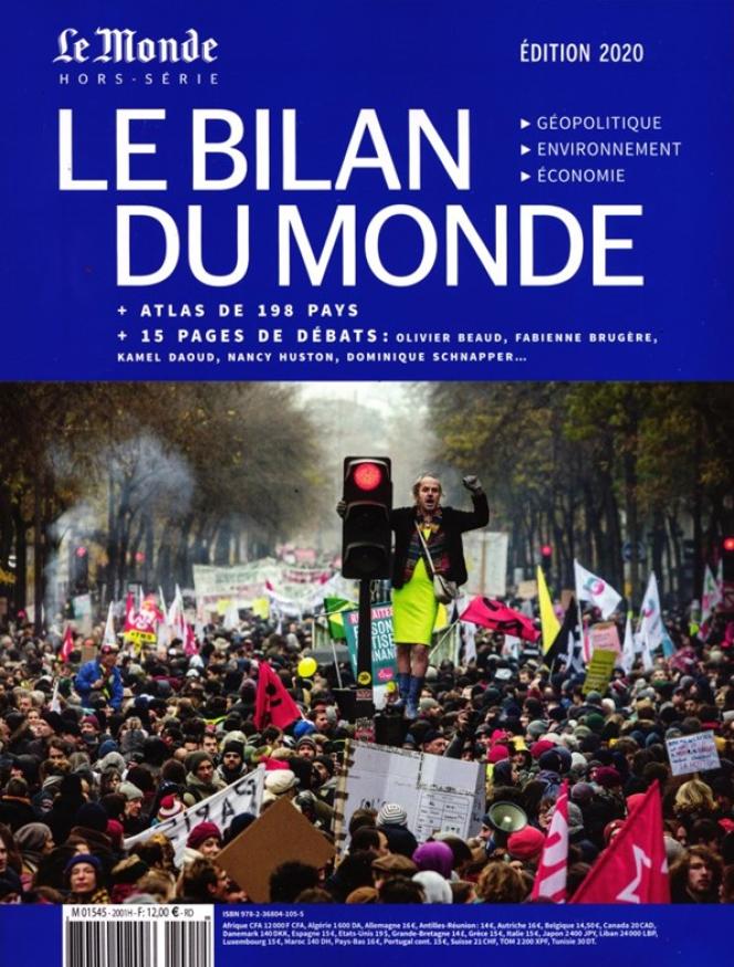 «Le Bilan du monde 2020. Géopolitique-Environnement-Economie», hors-série du «Monde», 220 pages, 12euros.