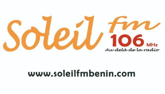 Le logo de la radio béninoise Soleil FM.