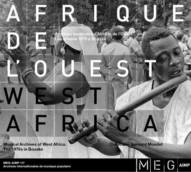 Pochette de l'album «Archives musicales d'Afrique de l'Ouest. Les années 1970 à Bouaké», par divers musiciens.
