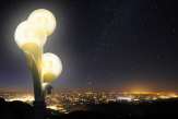 «En ville, moins d'une vingtaine d'étoiles sont visibles à l'œil nudans le ciel»