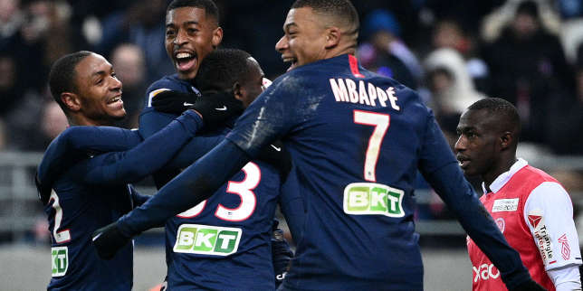 Coupe de la Ligue: en s'imposant à Reims (3-0), le PSG rejoint Lyon en finale