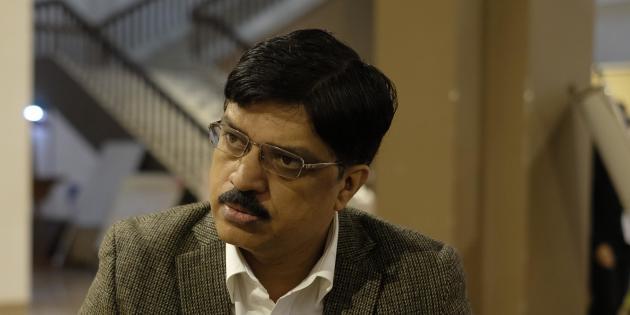 Le docteur Sanjeev Singh à Kochi, le 28 novembre 2019.