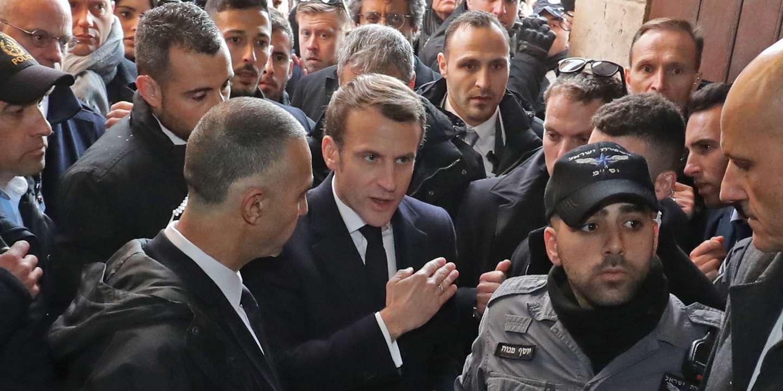 «Mêmes lieux, même ton supérieur, même emportement calculé»: l'éclat de voix de Macron à Jérusalem vu par la presse