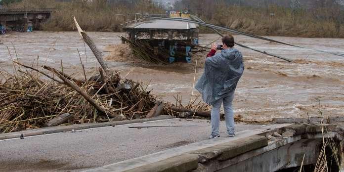 En Espagne, la dépression Gloria fait au moins neuf morts et laisse des paysages dévastés