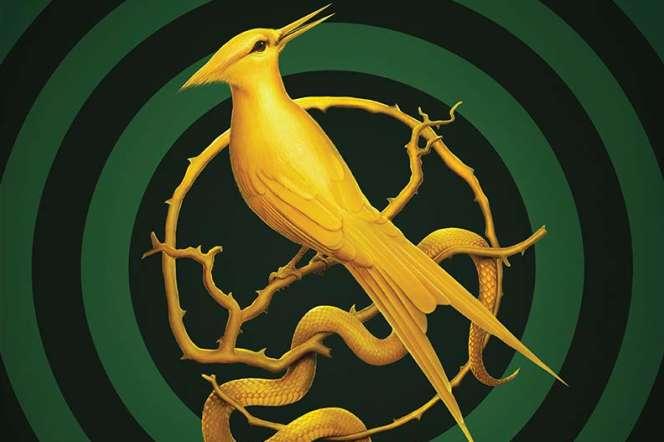 Un détail de la couverture américaine du préquel d'«Hunger Games».