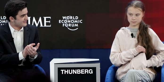 Climat : à Davos, la « génération Greta » tance l'élite mondiale