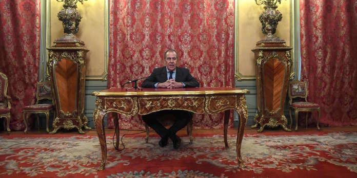 Sergueï Lavrov, inamovible chef de la diplomatie de Vladimir Poutine