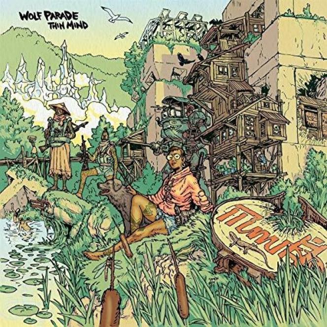 Pochette de l'album «Thin Mind», de Wolf Parade.