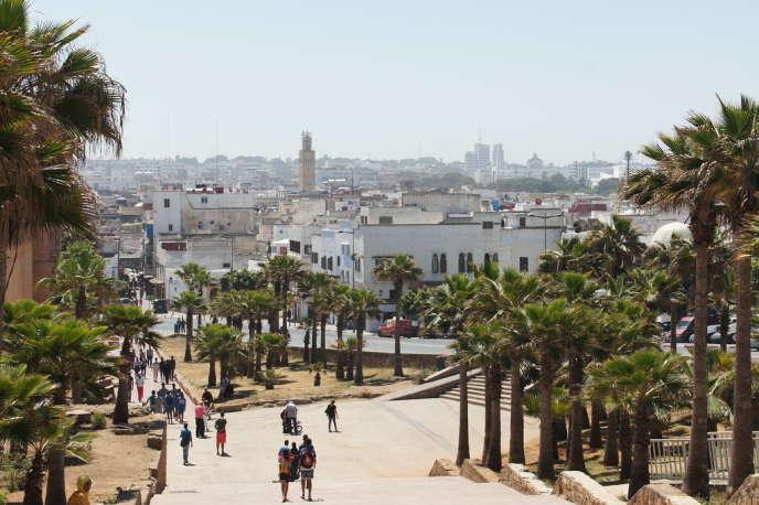 La ville de Rabat en 2016.