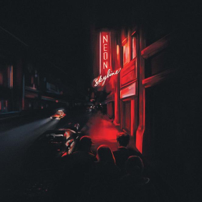 Pochette de l'album« The Neon Skyline», d'Andy Shauf.
