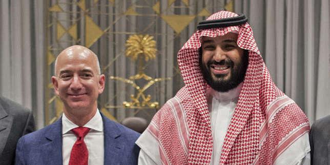 Le prince saoudien Mohammed Ben Salman soupçonné d'avoir piraté le téléphone du milliardaire Jeff Bezos