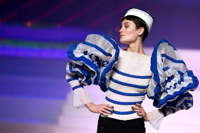 Défilé haute couture Jean Paul Gaultier, printemps/hiver 2020, à Paris, le 22 janvier.