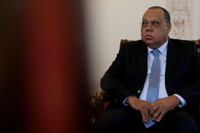 Le procureur général d'Angola, Helder Pitta Gros, à Lisbonne, le 23 janvier 2020.