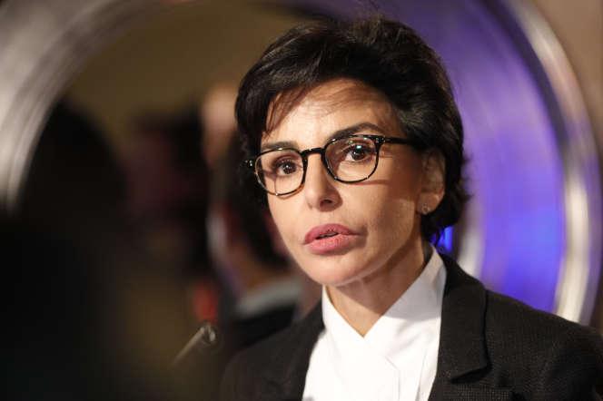 Rachida Dati à Paris, le 7 novembre 2019.
