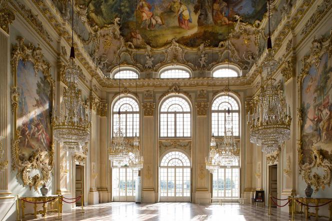 Le château de Nymphenburg, à Munich.