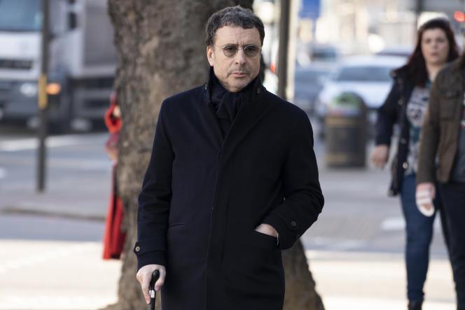 Alexandre Djouhri, à Londres, le 26 février 2019.