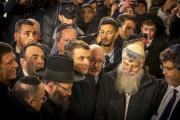 Emmanuel Macron visite le Mur des lamentations, à Jérusalem, le 22 janvier.