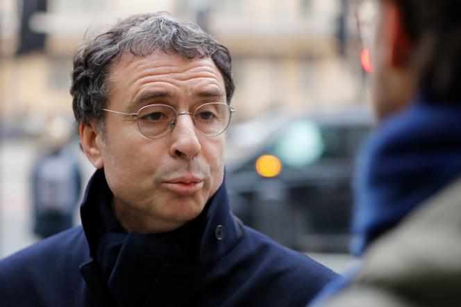 Alexandre Djouhri, le 21 janvier 2019, à Londres.