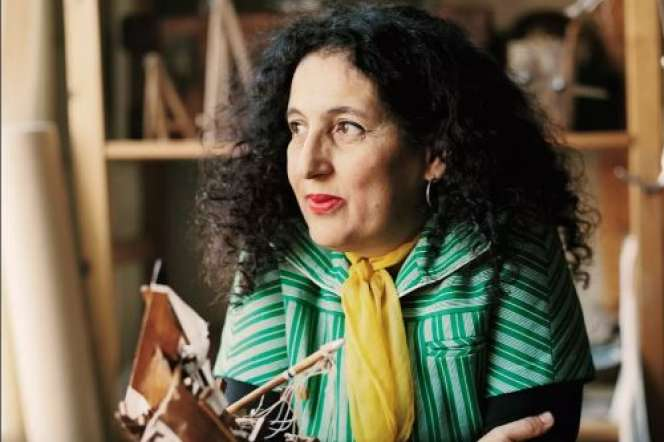 L'artisite franco-algérienne Zineb Sedira.