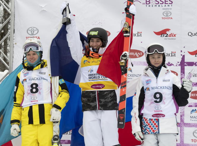 Perrine Laffont, après sa victoire le 25 janvier 2020.