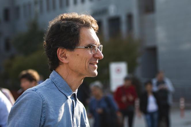 Le mathématicien turc, Tuna Altinel, à Balikesir, le 19 novembre 2019.