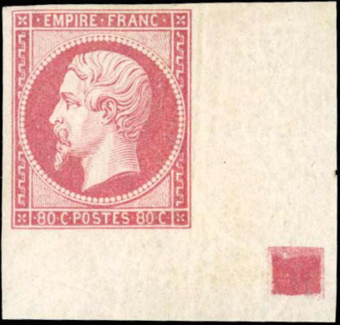 Coin de feuille, carréde repère, 45620 euros.