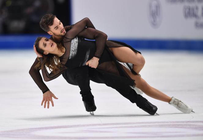 Gabriella Papadakis et Guillaume Cizeron, le 25 janvier 2020.