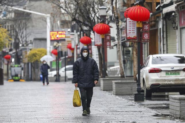 A Wuhan, le 25 janvier.