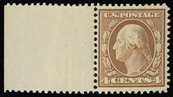 Bel exemplaire George Washington de 1909.