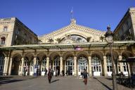 Le parvis de la gare de l'Est, à Paris.